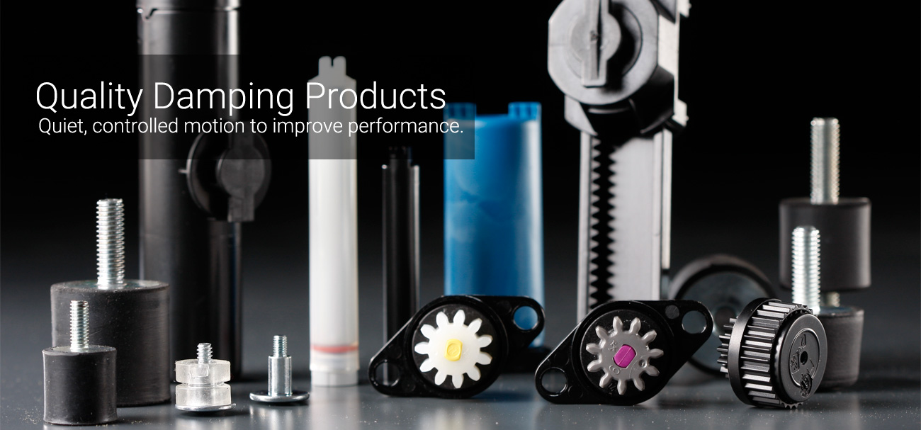 Quality Damping Products. Quiet, controlled motion to improve performance.